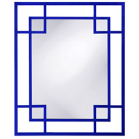Howard Elliott Collection 51219RB Lois 53 X 43 inch Glossy Royal Blue Wall Mirror photo thumbnail