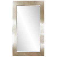 Howard Elliott Collection 51240 Montrose 84 X 48 inch Silver Leaf Finish Floor Mirror, Rectangle photo thumbnail