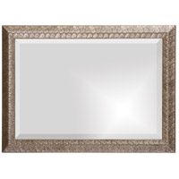 Howard Elliott Collection 51256 Malia 28 X 20 inch Silver Leaf Wall Mirror, Rectangle, Textured alternative photo thumbnail