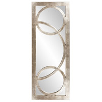 Dynasty 38 X 15 inch Silver Wall Mirror, Rectangle