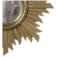 Howard Elliott Collection 51268 Euphoria 21 X 21 inch Brushed Aged Nickel Wall Mirror, Round alternative photo thumbnail