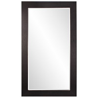 Howard Elliott Collection 51284 Wilde 84 X 48 inch Black Faux Leather Floor Mirror