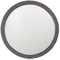 Howard Elliott Collection 5128CH Amelia Glossy Charcoal Wall Mirror photo thumbnail