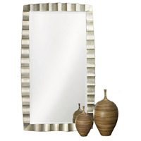 Bangkok 84 X 48 inch Burnished Silver Leaf Floor Mirror, Rectangle