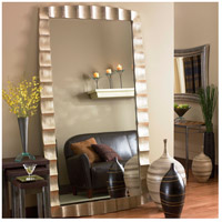 Howard Elliott Collection 5150 Bangkok 84 X 48 inch Burnished Silver Leaf Floor Mirror, Rectangle alternative photo thumbnail