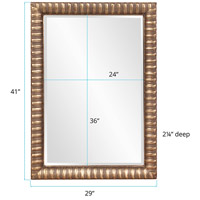 Howard Elliott Collection 5179 Moore 41 X 29 inch Antique Mottled Silver Wall Mirror, Rectangle alternative photo thumbnail