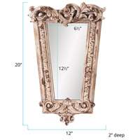 Howard Elliott Collection 52004 Noelle 20 X 12 inch Rustic Stone Wall Mirror, Rectangle alternative photo thumbnail