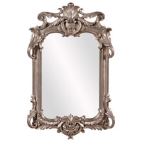 Howard Elliott Collection 52019 Eva 23 X 14 inch Antique Silver Leaf Wall Mirror photo thumbnail
