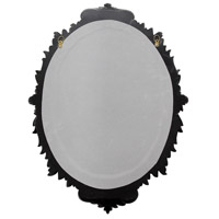 Howard Elliott Collection 52027 Diana 23 X 17 inch Antiqued Oil Rubbed Bronze Wall Mirror, Oval alternative photo thumbnail