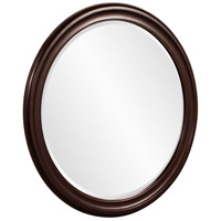 Howard Elliott Collection 53044 George 33 X 25 inch Oil Rubbed Bronze Wall Mirror, Round alternative photo thumbnail