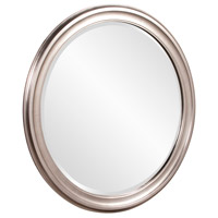 Howard Elliott Collection 53045 George 36 X 36 inch Brushed Nickel Wall Mirror, Round alternative photo thumbnail