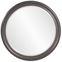 Howard Elliott Collection 53046CH George Glossy Charcoal Wall Mirror photo thumbnail