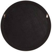 Howard Elliott Collection 53046 George 33 X 25 inch Wenge Brown Wall Mirror, Round alternative photo thumbnail