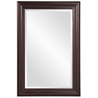 George 33 X 25 inch Oil Rubbed Bronze Wall Mirror, Rectangle