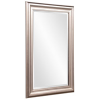 Howard Elliott Collection 53048 George 33 X 25 inch Bright Silver Leaf Wall Mirror alternative photo thumbnail