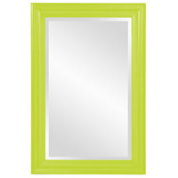 Howard Elliott Collection 53049MG George 36 X 24 inch Glossy Green Wall Mirror photo thumbnail