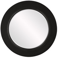Yukon Glossy Black Wall Mirror