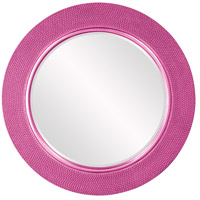 Yukon Glossy Hot Pink Wall Mirror