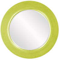 Yukon Glossy Green Wall Mirror