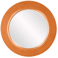 Yukon Glossy Orange Wall Mirror