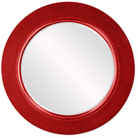 Yukon Glossy Red Wall Mirror