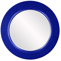 Yukon Glossy Royal Blue Wall Mirror