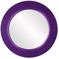 Yukon Glossy Royal Purple Wall Mirror