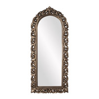 Howard Elliott Collection 53054 Orleans 72 X 30 inch Antique French Pewter Wall Mirror photo thumbnail