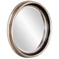 Howard Elliott Collection 53066 Cole 37 X 37 inch Champagne Silver Leaf Wall Mirror, Round photo thumbnail