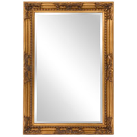 Howard Elliott Collection 53080 Queen Ann 33 X 25 inch Antique Gold Wall Mirror, Rectangle photo thumbnail
