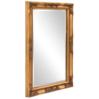 Howard Elliott Collection 53080 Queen Ann 33 X 25 inch Antique Gold Wall Mirror, Rectangle alternative photo thumbnail