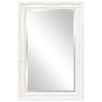 Howard Elliott Collection 53081 Queen Ann 33 X 25 inch Glossy White Wall Mirror, Rectangle photo thumbnail
