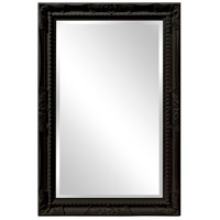Howard Elliott Collection 53081BL Queen Ann 33 X 25 inch Black Wall Mirror photo thumbnail