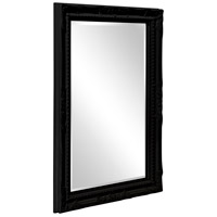 Howard Elliott Collection 53081BL Queen Ann 33 X 25 inch Black Wall Mirror alternative photo thumbnail