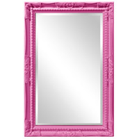 Howard Elliott Collection 53081HP Queen Ann 33 X 25 inch Hot Pink Wall Mirror photo thumbnail