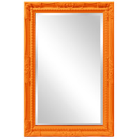 Howard Elliott Collection 53081O Queen Ann 33 X 25 inch Orange Wall Mirror photo thumbnail
