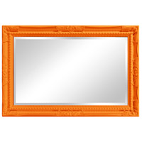 Howard Elliott Collection 53081O Queen Ann 33 X 25 inch Orange Wall Mirror alternative photo thumbnail