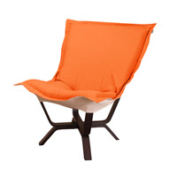 Howard Elliott Collection 540-229 Milan Puff Orange Accent Chair photo thumbnail