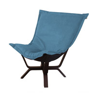 Howard Elliott Collection 540-250 Mojo Turquoise Blue Accent Chair photo thumbnail