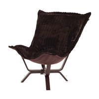 Howard Elliott Collection 540-285 Mink Brown Accent Chair photo thumbnail
