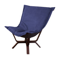 Howard Elliott Collection 540-972 Milan Puff Royal Blue Accent Chair photo thumbnail