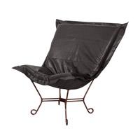 Howard Elliott Collection 555-194 Avanti Black Accent Chair Home Decor