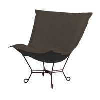 Howard Elliott Collection 555-201 Sterling Charcoal Gray Accent Chair Home Decor