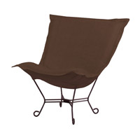 Howard Elliott Collection 555-202 Sterling Rich Chocolate Brown Accent Chair Home Decor