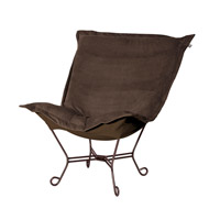 Howard Elliott Collection 555-220 Bella Deep Chocolate Brown Accent Chair photo thumbnail