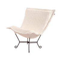 Howard Elliott Collection 555-256 Mink Snow Accent Chair Home Decor