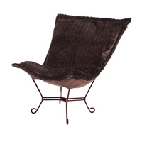 Howard Elliott Collection 555-285 Mink Brown Accent Chair Home Decor