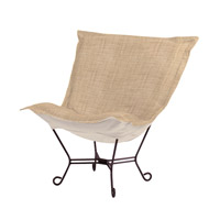 Howard Elliott Collection 555-888 Coco Stone Brown Accent Chair Home Decor