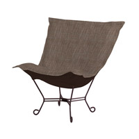 Howard Elliott Collection 555-891 Coco Slate Gray Accent Chair Home Decor