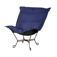 Howard Elliott Collection 555-972 Bella Rich Royal Blue Accent Chair Home Decor
